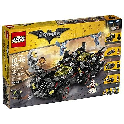 LEGO BATMAN MOVIE The Ultimate Batmobile 70917 Building Kit. Best Price