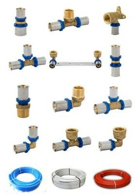 Press Fittings Multi Layer Dvgw Composite Pipe Th 16x2 20x2 26x3 32x3
