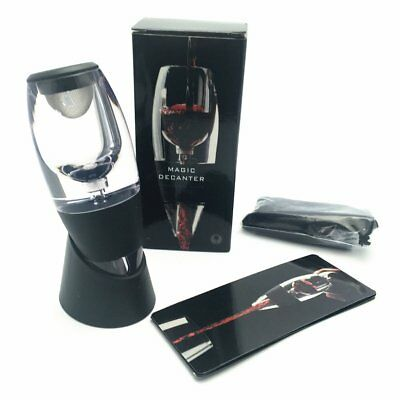 Quality Red Wine Aerator + Stand + Filter Wine Aerator Decanter Set RB