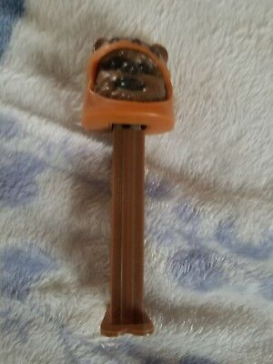 Vintage footed Pez Dispenser - Star Wars Chewbacca, Lucas Films LTD
