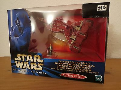 Star Wars Episode 1 - Sternenkreuzer der Republik - Action Fleet - Hasbro