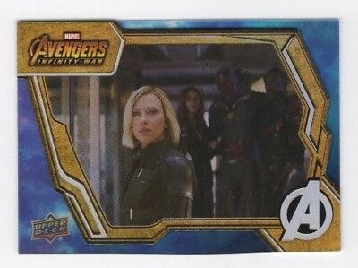 2018 Upper Deck Marvel Avengers Infinity War Base Card Tier 2 SP #53