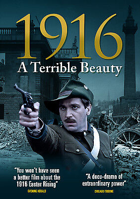 1916 - A Terrible Beauty (2015) | NEW & SEALED DVD (Easter Rising Docudrama)