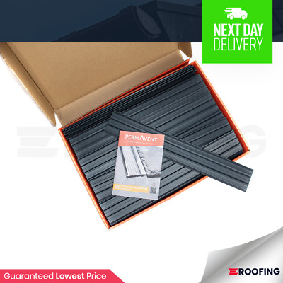 Permavent Easy Slate 500 | Any Slate | Low Pitched Roofs 12 Degrees | Box of 100