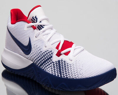 90840c1b625d Nike Kyrie Flytrap Basketball Shoes White Deep Royal Blue Red 2018 AA7071- 146