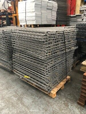 WIRE MESH PALLET RACKING DECKS -         1100mm x 1100mm