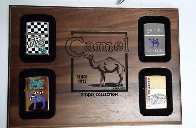 Camel Zippo Lighter Collection MINT CONDITION!! Q3
