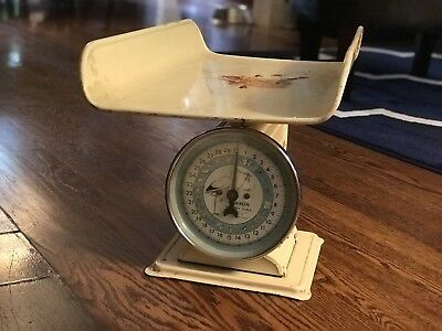 Vintage Hanson Baby Scale Nursery Bambi decal 3025 Farmhouse Country Decor