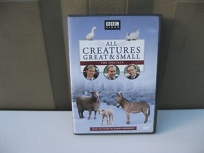 All Creatures Great & Small: The Specials DVD New Unused James Herriot Fast Ship