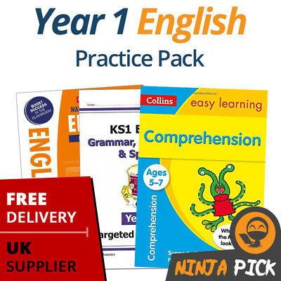Year 1 English Practice Pack (Age 5-6)  - 2019 Spec - New Curriculum