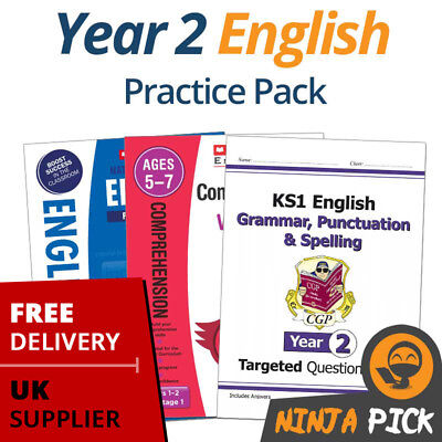 Year 2 English Practice Pack (Age 6-7)  - 2019 Spec - New Curriculum