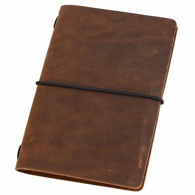 Notebook Pocket Travelers Leather Journal Cover for Field Notes Diary Planner