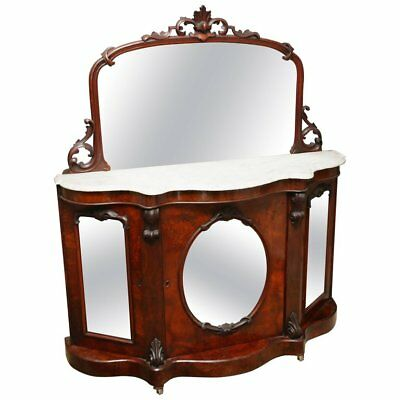 Marble top Victorian sideboard, Bar, Server or Console Table