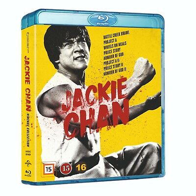 Jackie Chan Vintage Collection Box 8-Movie Blu Ray