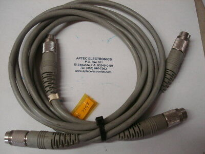 pair of Agilent 11730A 8120-8319 Cable Assemblies for power meters