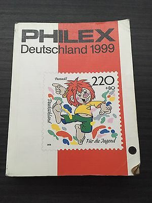 Briefmarken Katalog PHILEX Deutschland 1999