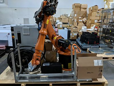 Excellent 2012 Complete Kuka KR 16 Robotic ARM w/ KRC2 KCP2 KCPED KR16