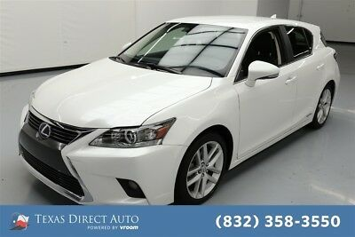 Lexus CT 200h CT 200h Texas Direct Auto 2017 CT 200h Used 1.8L I4 16V Automatic FWD Hatchback