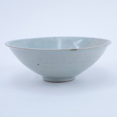 Chinese Song Dynasty (1127–1279) Oingbai Ware Bowl.