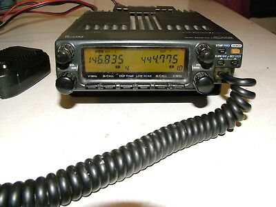 Icom IC2350H FM Dual band mobile transceiver