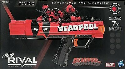 Nerf Apollo Deadpool Foam Blaster Toy. Shipping Included