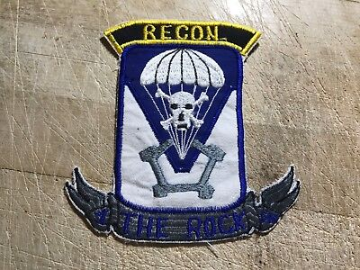 1950s/1960s? US ARMY PATCH-503rd AIRBORNE The Rock RECON-ORIGINAL!