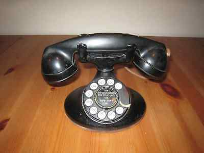 Antique Vintage Telephone - Rotary Dial, c. 1920-1940