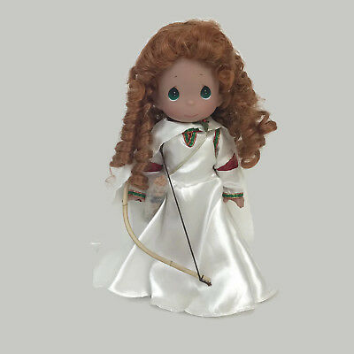 "Precious Moments Disney Parks Exclusive Merida Brave Christmas 12"" Vinyl Doll"