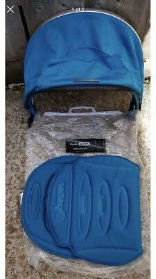 Oyster Max Tandem Hood And Seat Pad