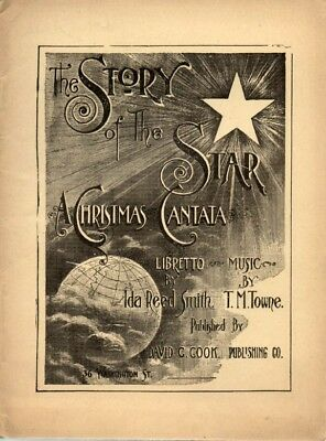 The Story of the Star A Christmas Cantata 1905 RARE