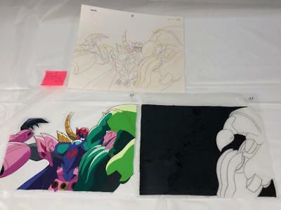 Transformers Japanese Beast Wars 2 Ii Galvatron Animation Art Cell Lot 245