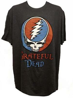 """New Grateful Dead """"Steal Your Face"""" Mens Adult Size Large L-Tall Licensed Shirt"""
