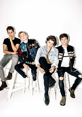 The Vamps  POSTER PRINT A5..A4..A3 ...A2..OPTIONS