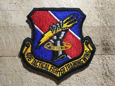 1950s/1960s? US AIR FORCE PATCH-406th Tactical Fighter Training Wing-ORIGINAL!