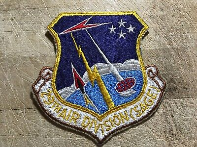 1950s/1960s? US AIR FORCE PATCH-29th Air Division (SAGE)-ORIGINAL USAF BEAUTY!