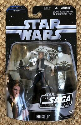 Star Wars A New Hope Episode IV The Saga Collection Han Solo Action Figure✨