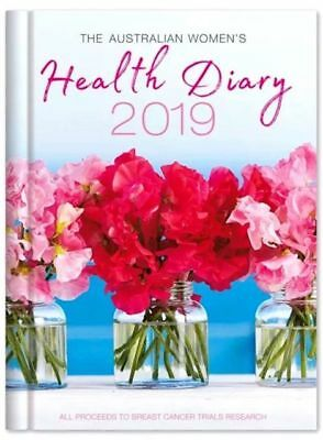 2019 The Australian Women's Health Diary Daily Journal A5 Week to View