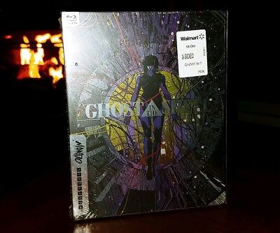GHOST IN THE SHELL (Blu-ray) STEELBOOK-BRAND NEW & SEALED