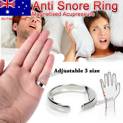 Antisnore ANTI SNORE STRAP RING STOP SNORING SLEEP APNEA SOLUTION AID