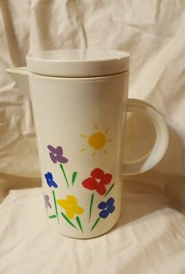 Vintage Coffee/Tea Carafe 1985 Teleflora Gifts
