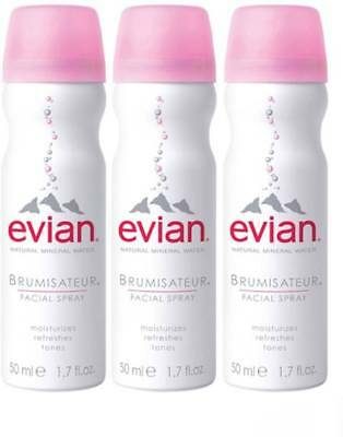 Brumisateur Facial Spray, Evian, 1.7 oz trio