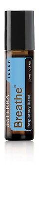 doTERRA Breathe TOUCH Essential Oil Blend 10ML Roll On New/Sealed FREE SHIPPING!