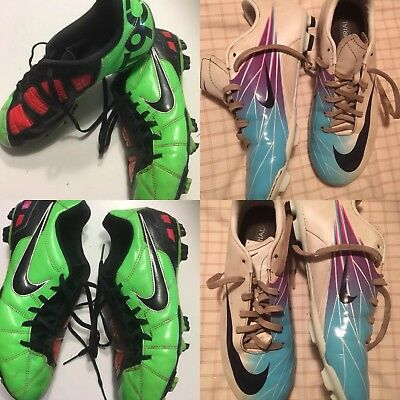 Nike Football Boots Mercurial & T90 Size 5Y