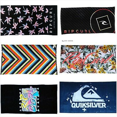 Brand New Rip curl Towel Beach Surf Pool Gym Bath Swimming 100% Cotton Cover Up