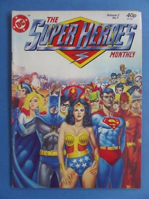 The Superheroes Vol2 #1 1981 Original Uk Cover!