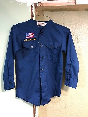 Boy Scouts Of America Cub Scout Shirt Size Youth Small.                  R