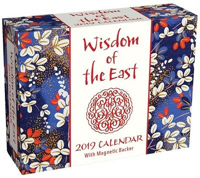 2019 Calendar Wisdom of the East Mini Day-to-Day Boxed Calendar by Andrews McMee