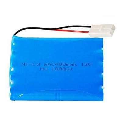 12V 1400mAh Rechargeable Ni-Cd AA Battery Pack With KET 2P Plug For RC Toys