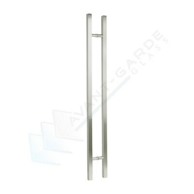 Front Door Handle Entrance Pull 1200 Satin Modern External Long Stainless Steel