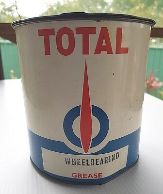 Total Australia Sydney Wheelbearing 5lb Grease Tin with Lid with Contents